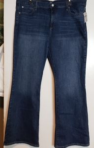 Gap Perfect Boot petite Size 20 NWT jeans